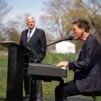 Franklin Graham & Michael W. Smith Easter Recording