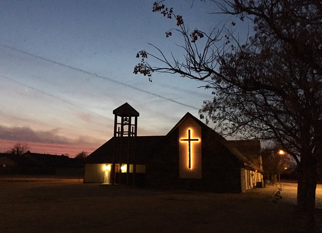 Photo of church by Kathryn Darden