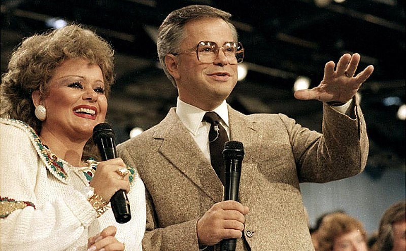 Jim and Tammy Faye Bakker