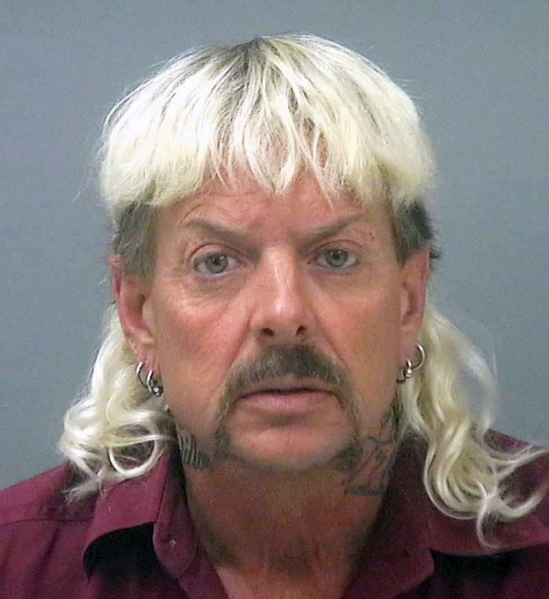 Mugshot of Joe Exotic
