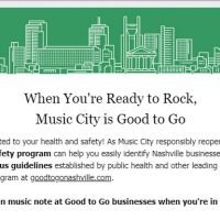 Nashville 'Good to Go' with New Safety Program