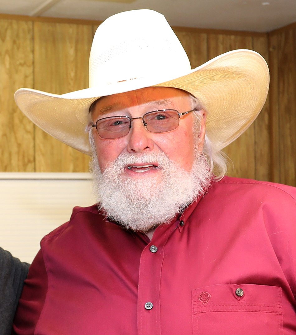 From a photo of Governor of Maryland Larry Hogan and country musician Charlie Daniels