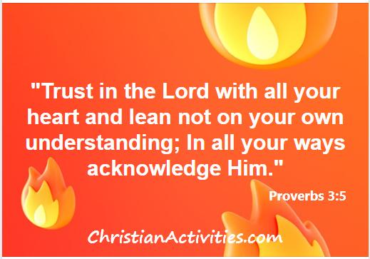 Proverbs 3:5 scripture