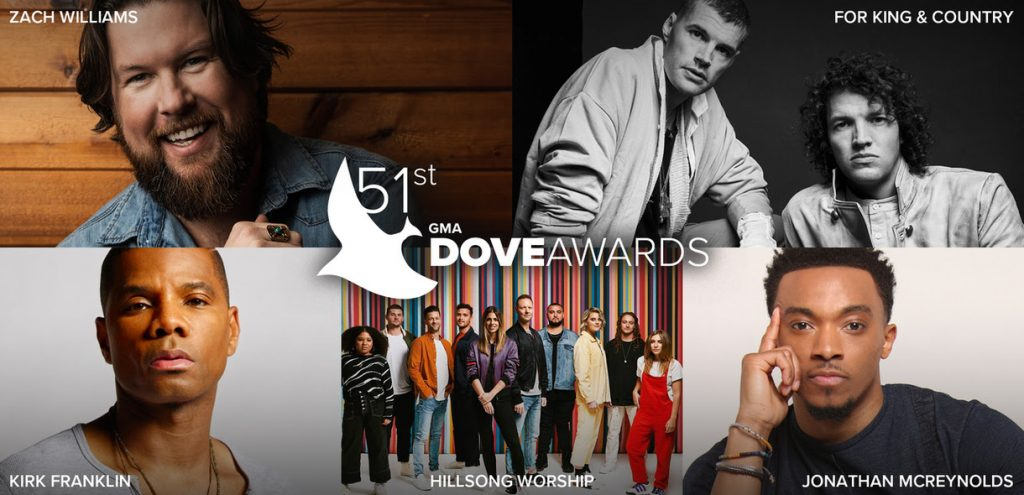 51st Annual Dove Awards Collage