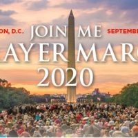 Franklin Graham Leads Prayer March 2020 Sept. 26 in Nation's Capital