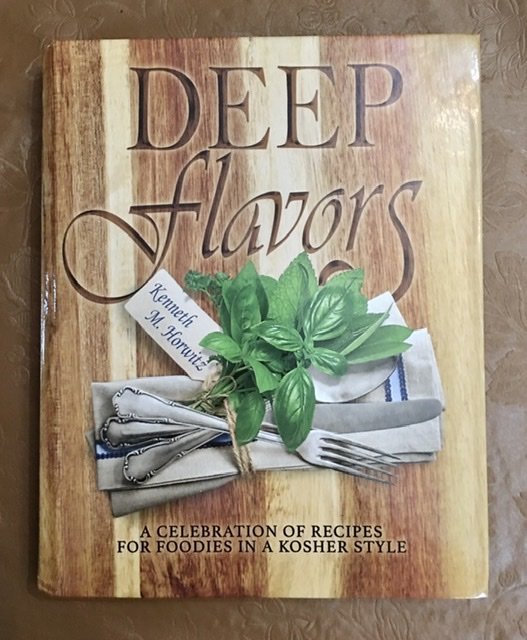 Deep Flavors cookbook cover