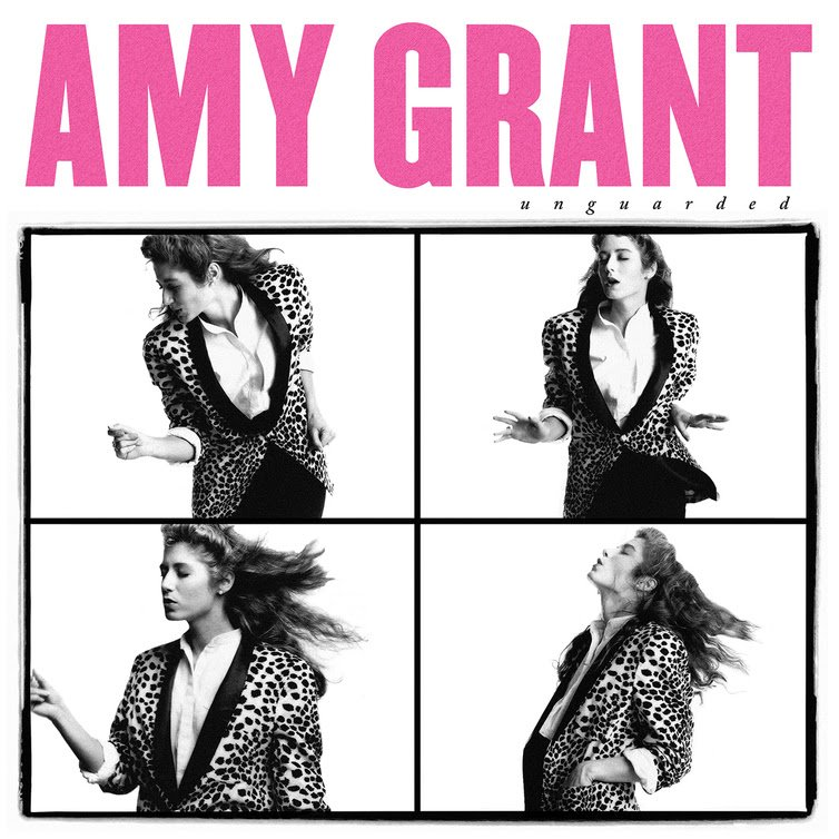 "Amy Grant's album cover for ""Unguarded"""