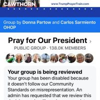 Why Did Facebook Delete the 'Pray for Our President' Group? Interview with Donna Partow