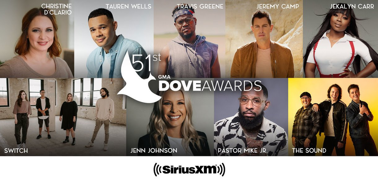 Photo of New Performers added to 51st Annual Dove Awards