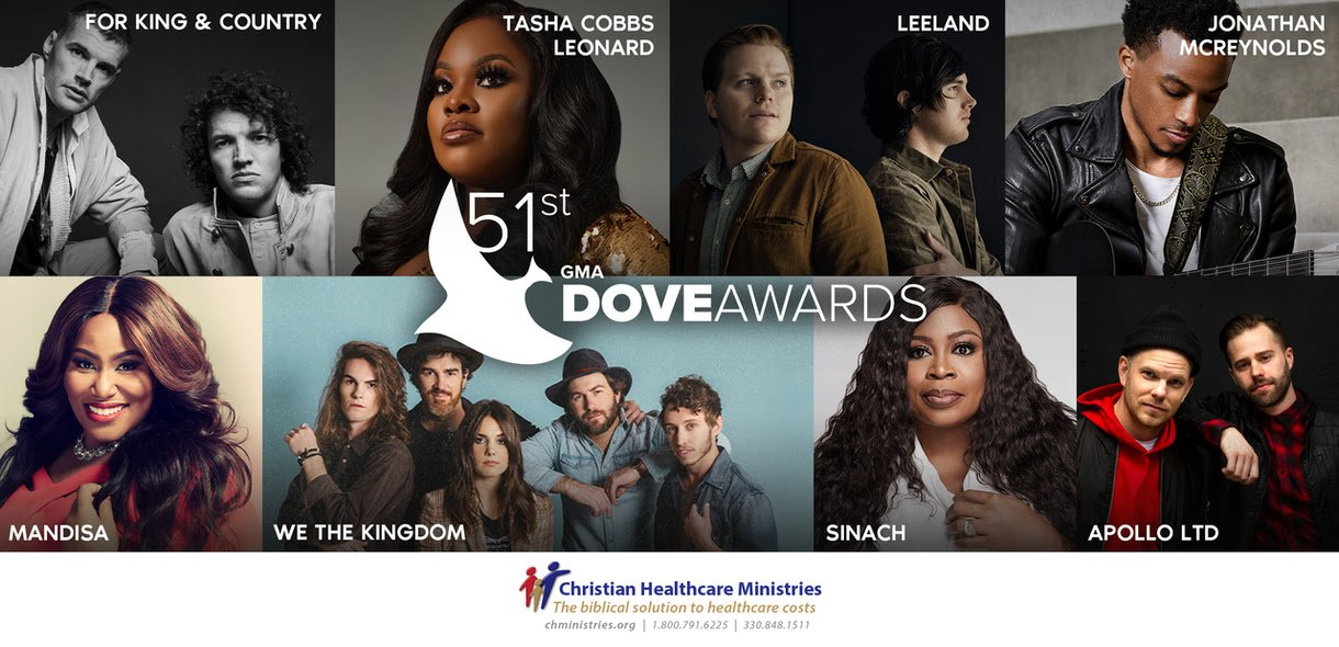 Some Performer for 51st annual Dove Awards