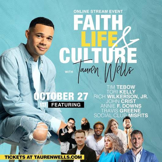 Tauren Wells: Faith, Life & Culture image
