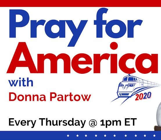 Pray for America logo