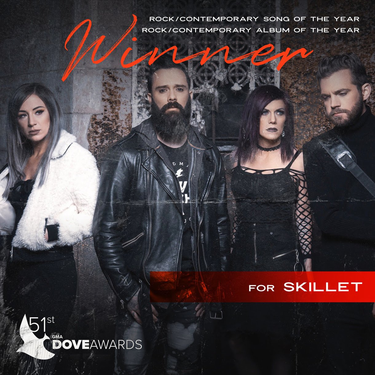 Dove Award Winners Skillet