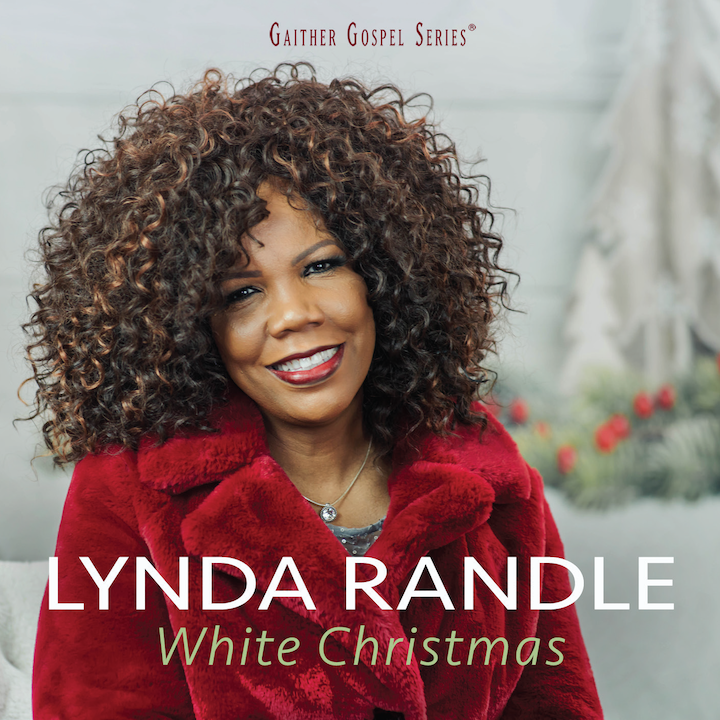 "Lynda Randle ""White Christmas"" album cover"