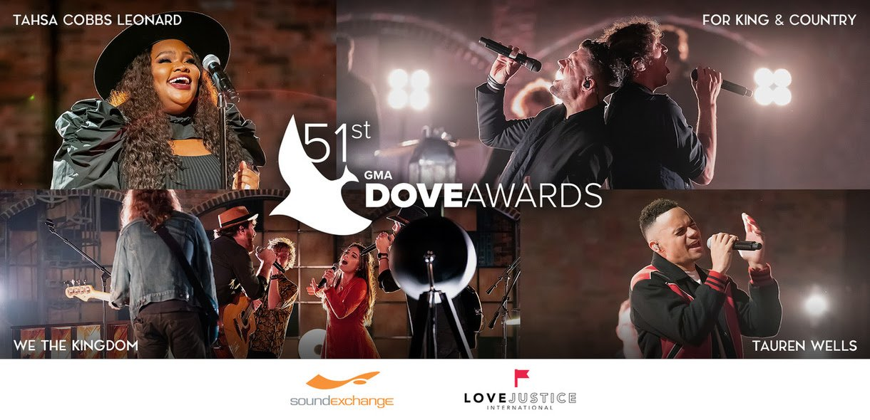2020 Dove Awards collage