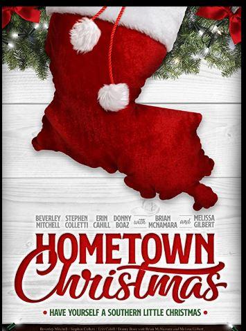 Hometown Christmas art