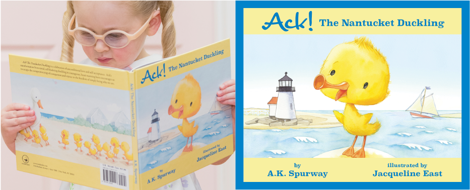 Ack! The Nantucket Duckling book cover