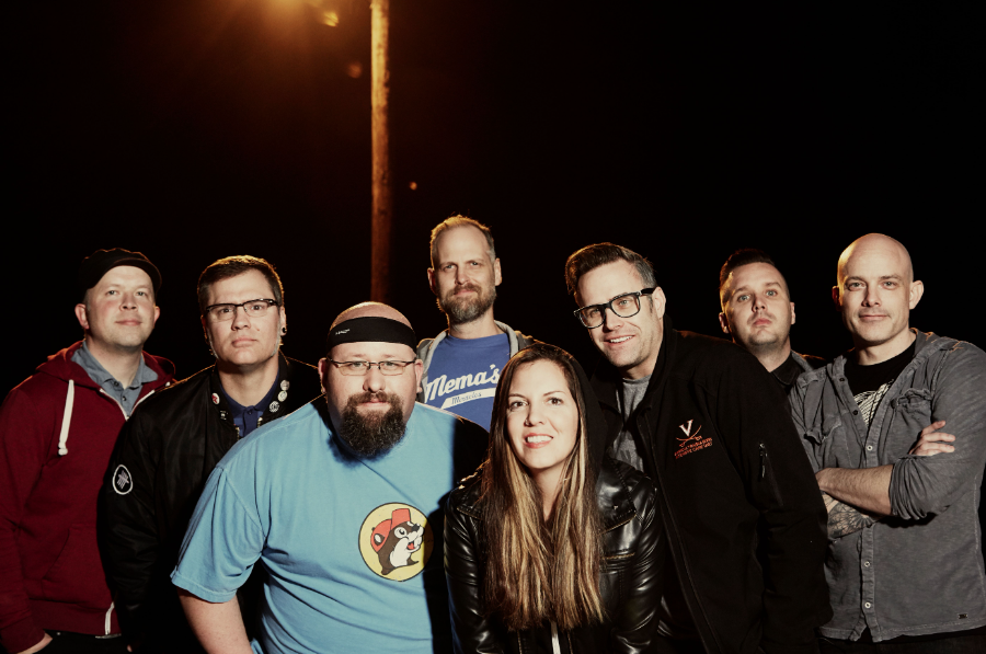 Group shot of Five Iron Frenzy