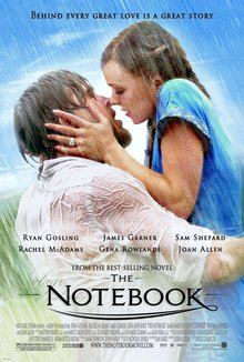 Movie poster from The Notebook
